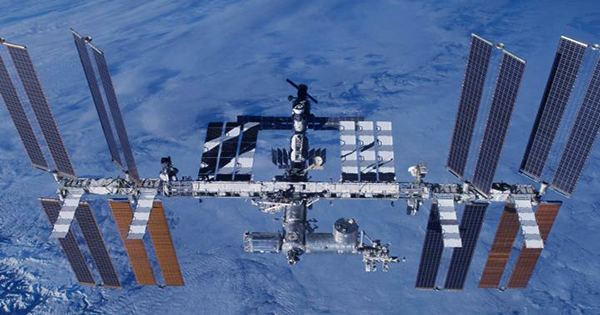 A Piece of Space Junk Has Damaged Part of the International Space Station