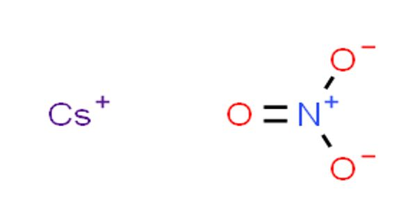 Caesium Nitrate – a Strong Oxidizing Material
