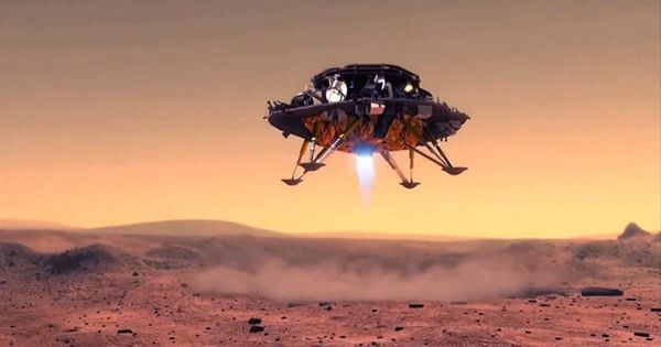 China's Zhurong Rover Takes its First Spin on the Martian Surface