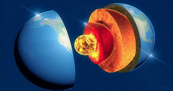 Earth's Core is Growing Faster on One Side than the other Making it Lopsided