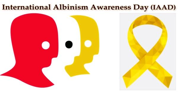 International Albinism Awareness Day (IAAD)