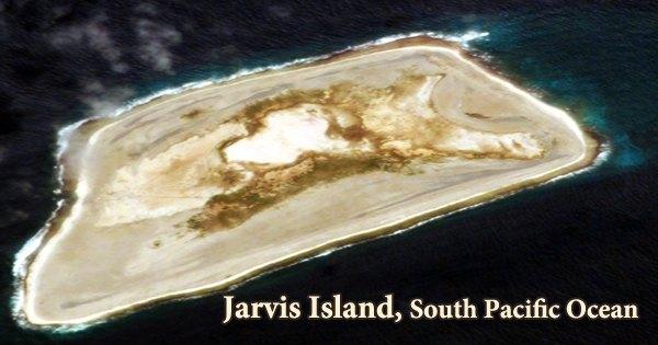 Jarvis Island, South Pacific Ocean