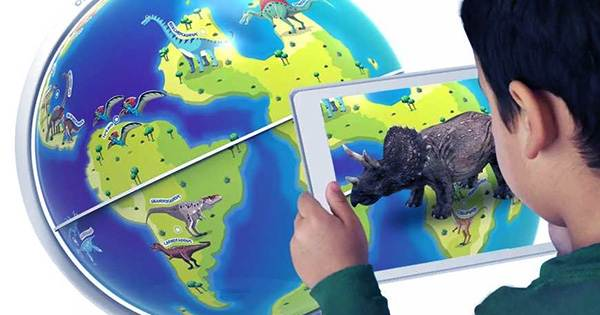 Kids can Use AR to Explore the Planet from Home with Orboot Earth