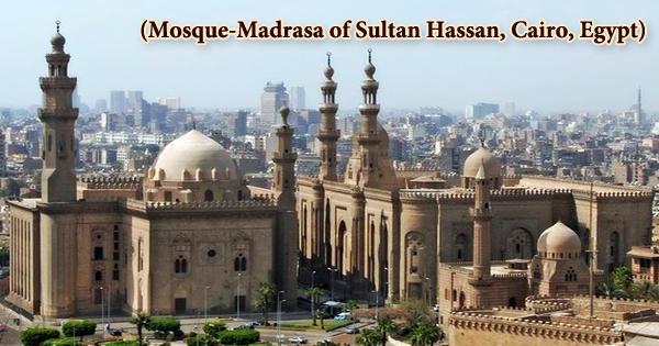 Mosque-Madrasa of Sultan Hassan, Cairo, Egypt