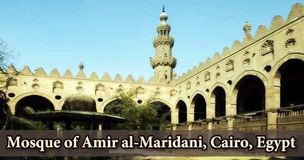 Mosque of Amir al-Maridani, Cairo, Egypt