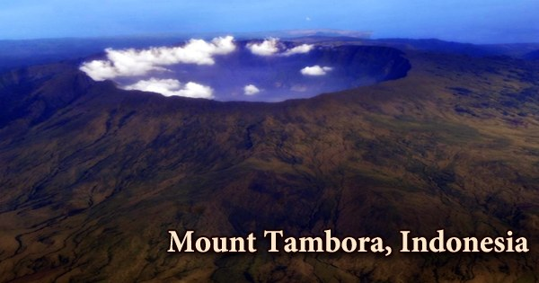 Mount Tambora, Indonesia