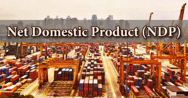 Net Domestic Product (NDP)