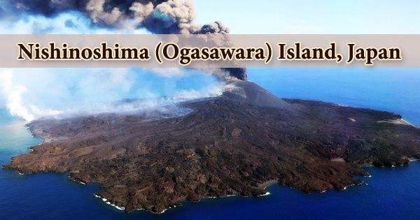 Nishinoshima (Ogasawara) Island, Japan