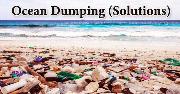 Ocean Dumping (Solutions)