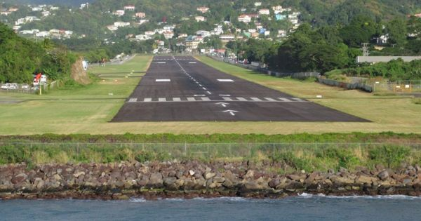 Sea Level Rise puts Hundreds of Coastal Airports at Risk of Increasing Flood