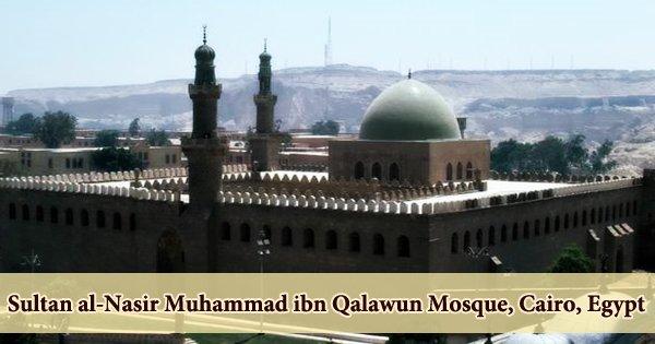 Sultan al-Nasir Muhammad ibn Qalawun Mosque, Cairo, Egypt