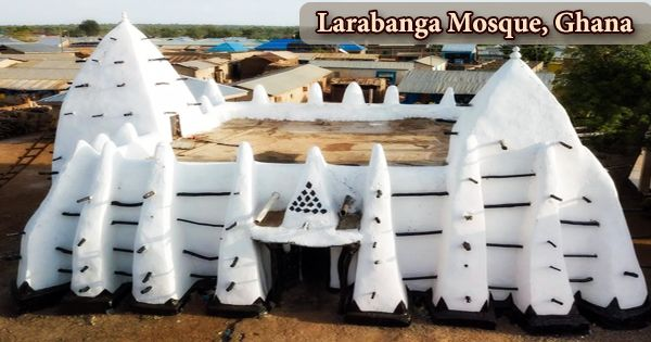 A visit to a historical place/building (Larabanga Mosque, Ghana)