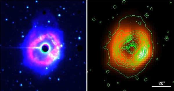 AG Carinae – a Star in the Constellation Carina