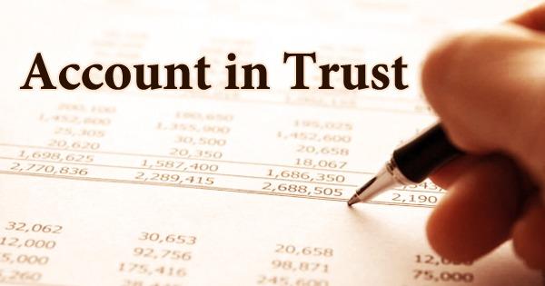 Account in Trust