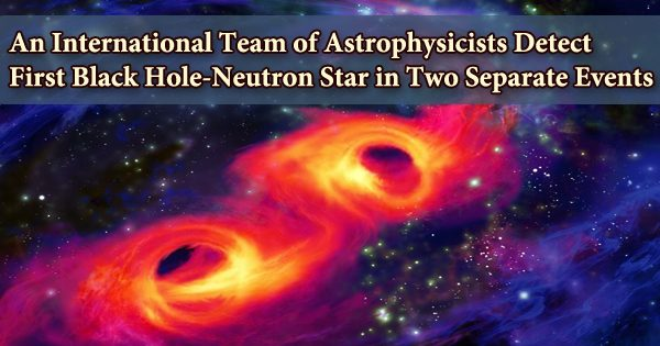 An International Team of Astrophysicists Detect First Black Hole-Neutron Star in Two Separate Events