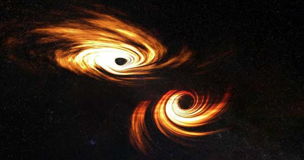 Binary Black Holes' Light-bending Dance