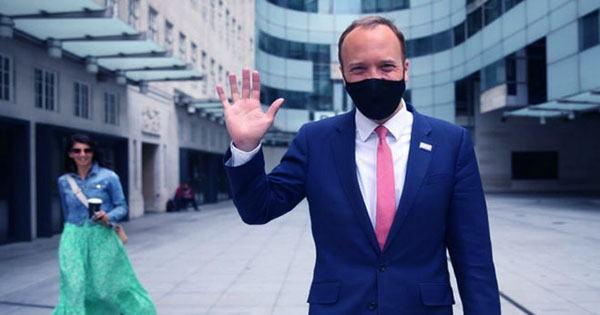 British Health Minister Matt Hancock Resigns after Social Distancing Craze
