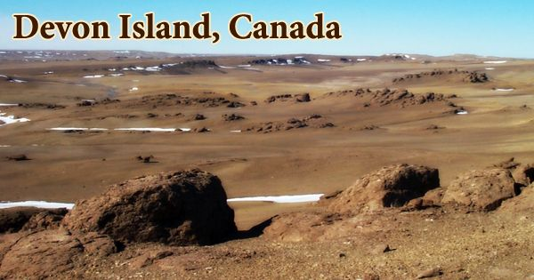 Devon Island, Canada