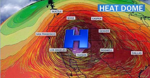 Heat Dome: what's Causing the Unbelievably Hot Heatwave in the Pacific Northwest?