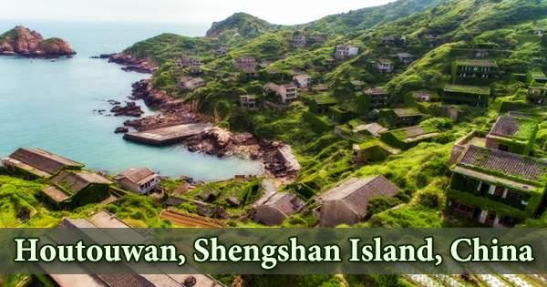 Houtouwan, Shengshan Island, China