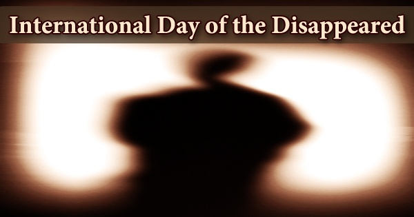 International Day of the Disappeared