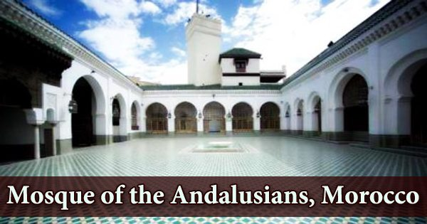 A visit to a historical place/building (Mosque of the Andalusians, Morocco)