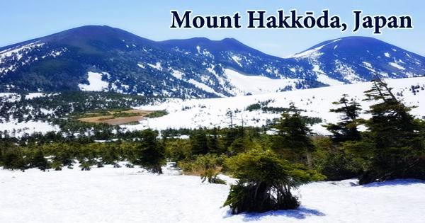 Mount Hakkōda, Japan