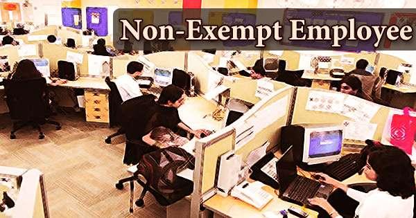 Non-Exempt Employee