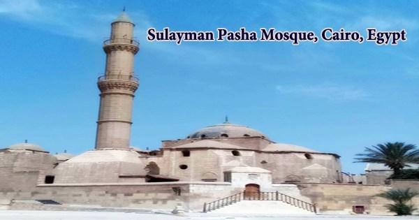 Sulayman Pasha Mosque, Cairo, Egypt