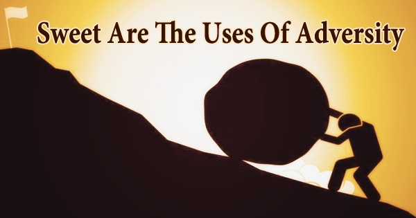 Sweet are the Uses of Adversity