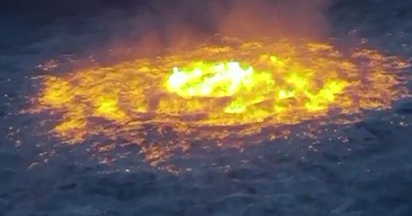 The Ocean Set on Fire Twice this Weekend