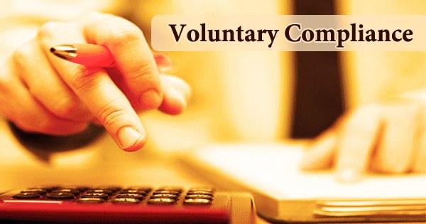 Voluntary Compliance