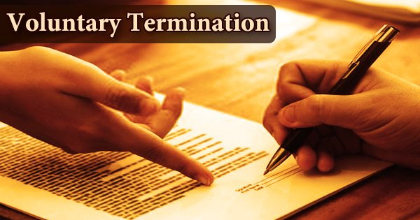 Voluntary Termination