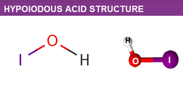 Hypoiodous Acid – an Inorganic Compound
