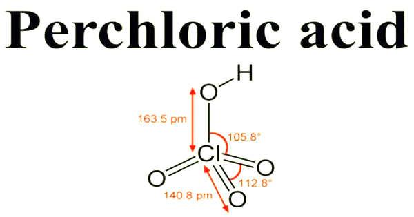 Perchloric Acid – a Mineral Acid