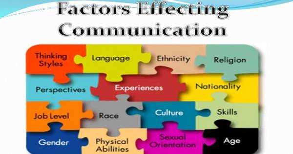 Factors that Influence Communication