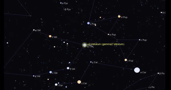 Gamma Velorum – a Binary Star in the Vela Constellation