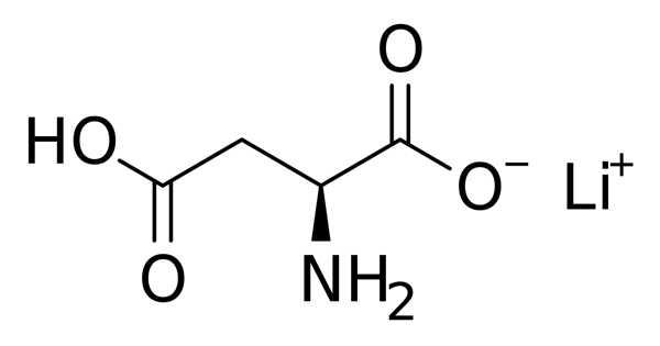 Lithium Aspartate – a Salt of Aspartic Acid and Lithium