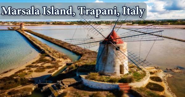 Marsala Island, Trapani, Italy