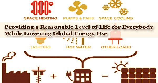 Providing a Reasonable Level of Life for Everybody While Lowering Global Energy Use