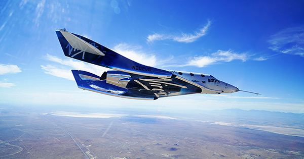 Richard Branson Reaches Edge of Space, Winning the Billionaire Space Race