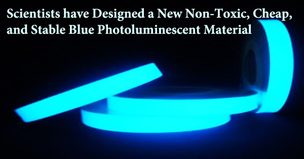 Scientists have Designed a New Non-Toxic, Cheap, and Stable Blue Photoluminescent Material