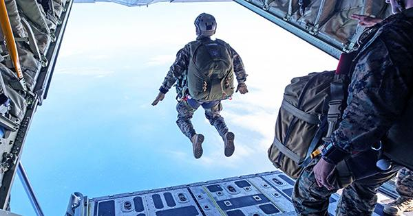 Soldier Survives 15,000-Foot Fall and Crashes through House after Parachute Failure