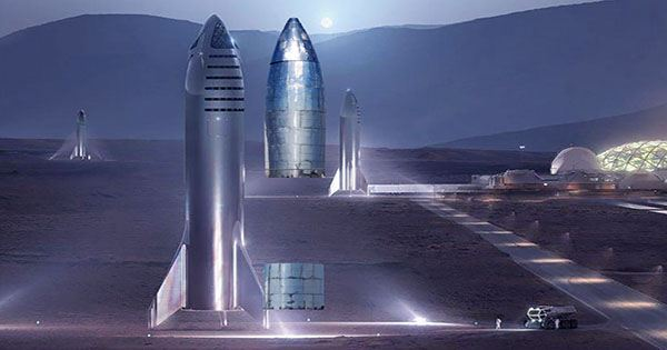 SpaceX's Stacked Starship and Super Heavy Booster Taller than Great Pyramid of Giza
