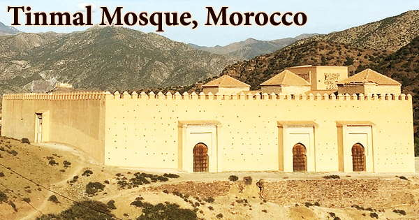 A visit to a historical place/building (Tinmal Mosque, Morocco)