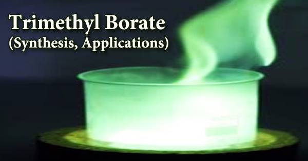 Trimethyl Borate (Synthesis, Applications)