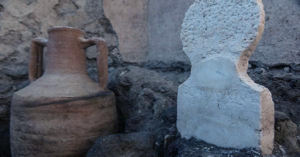 Unusual Partially Mummified Body Found in Newly Discovered Pompeii Tomb