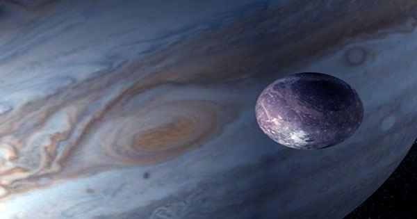 Water Vapor Found on Jupiter's Moon Ganymede