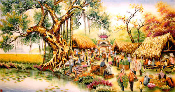 Essay on a Village Market
