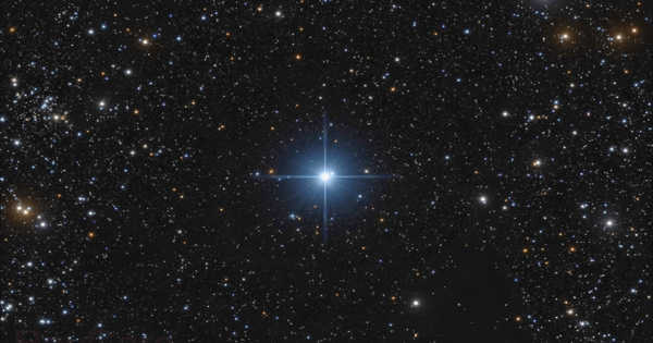 HR 4729 – a Hot Blue Star located in the Crux Constellation